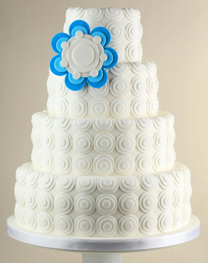 Funky Wedding Cake